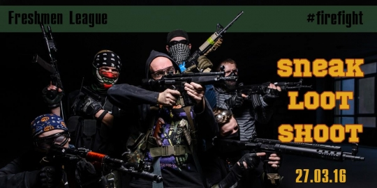 27.03.16 SNEAK LOOT SHOOT - Rush @ CQB ARROWHEAD